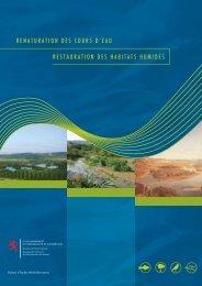 Renaturation des cours d'eau - Restauration des habitats humides
