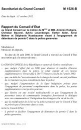 1526-B - Etat de Genève