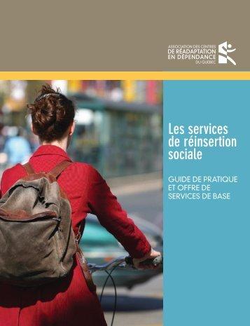 Les services de réinsertion sociale - acrdq