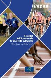 Le sport à l'épreuve de la diversité culturelle - Council of Europe