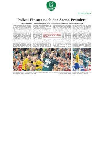 DHfK Leipzig will gegen Saarlouis in die ... - SC DHfK Handball