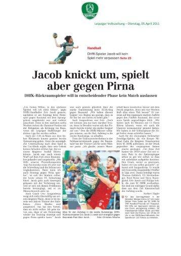 Pressespiegel 05.04. - SC DHfK Handball