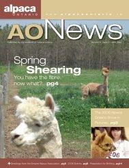 June 2006 - Alpaca Ontario