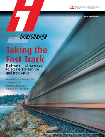 Taking the Fast Track - Railway Association of Canada