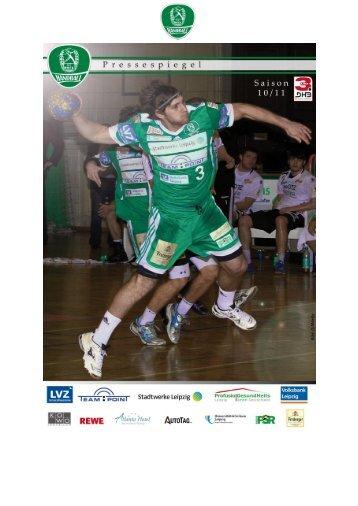 Pressespiegel 12.04.-18.04. - SC DHfK Handball