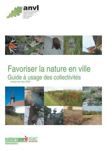 Comment favoriser les continuit s cologiques gpn sees for La nature en ville
