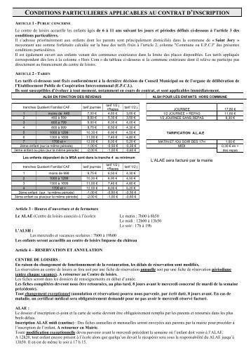 Pour consulter la brochure ville saint joseph de beauce for Reglement interieur entreprise pdf