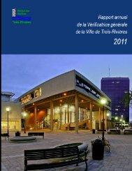 Rapport annuel 2011 - Ville de Trois-Rivières