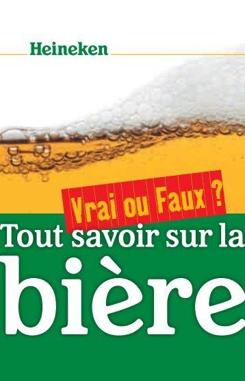 Vrai ou Faux ? - Heineken Switzerland AG