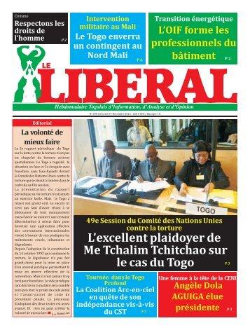 Le Libéral N°98.pdf - République Togolaise