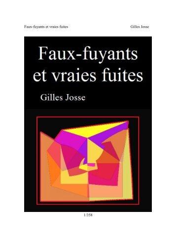 Faux-fuyants et vraies fuites Gilles Josse 1/358