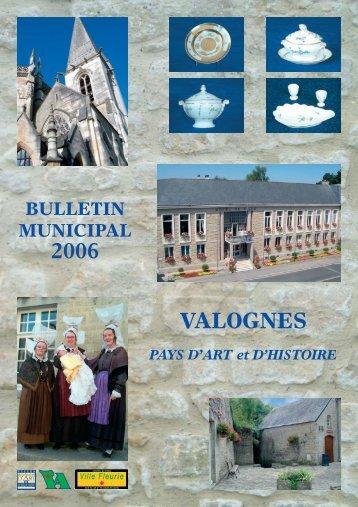 Bulletin Municipal 2006 - Valognes