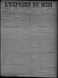 26 janvier 1906 - Bibliothèque de Toulouse