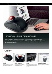 SOLUTIONS POUR ORDINATEURS ORBIT™ - Net