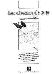 Le livret pédagogique sur les oiseaux marins - LPO