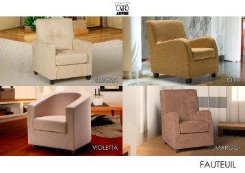 FAUTEUIL - meubles Tronel