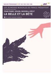 la belle et la bete - les Jeunesses Musicales de France