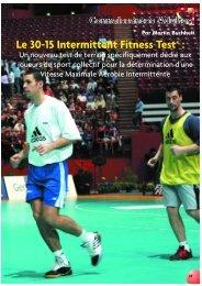 Le 30-15 IFT - CDOS de Haute savoie