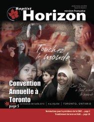 Convention Annuelle à Toronto - Canadian National Baptist ...