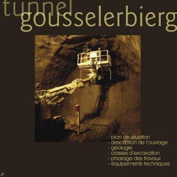 Tunnel Gousselerbierg - Brochure - Administration des Ponts et ...