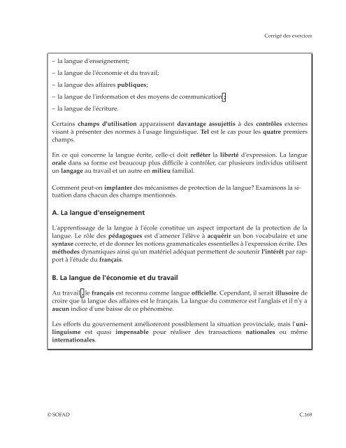 Révision de textes en fr