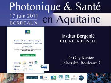 Institut Bergonié - Un rendez-vous de la Route des Lasers