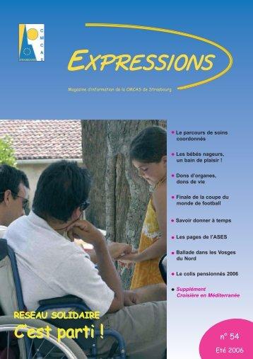 EXPRESSIONS - CMCAS de Strasbourg-Sélestat - CCAS