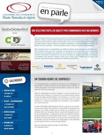 Bulletin commerce et developpement mai juin 07 agriterra for Chambre de commerce haute yamaska