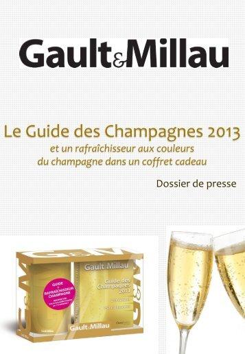 Guide des Champagnes 2013 - Bernadette Vizioz Communication