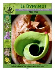Dynamot #11 mai 2012 - Association de biodynamie du Québec