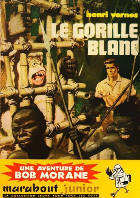 bob morane le gorille blanc