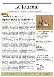Dessin de presse et représentations collectives - Philine