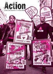 la lettre d'Act Up-Paris n°111 Février 2008
