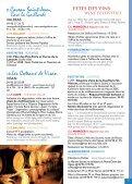 Dégustations Wine tasting Fêtes vigneronnes Wine festivities - Page 5