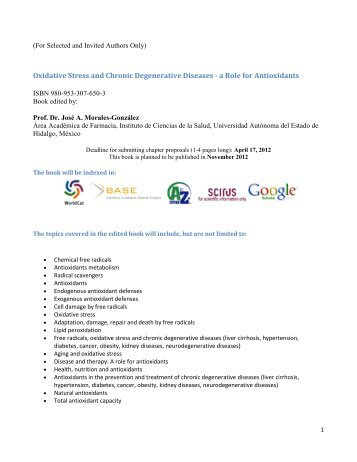 Oxidative Stress and Chronic Degenerative Diseases - Universidad ...