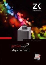 Produktflyer magic3 2010 - Zimmer & Kreim