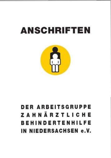 Anschriftenverzeichnis - Zahnärztekammer Niedersachsen