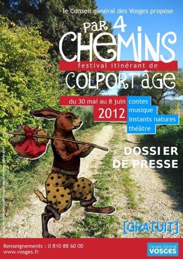 Par 4 chemins - Vosges