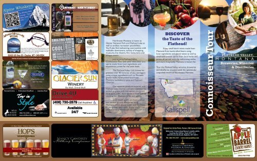winery, distillery and brewery tasting - Kalispell, Montana