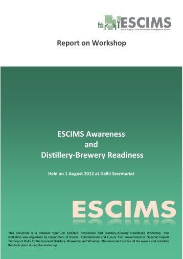 Report on Distillery Workshop - Delhi