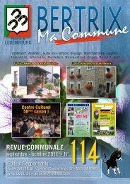 Revue Communale de Bertrix n° 114