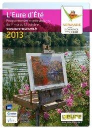 Télécharger la brochure au format pdf - Eure Tourisme