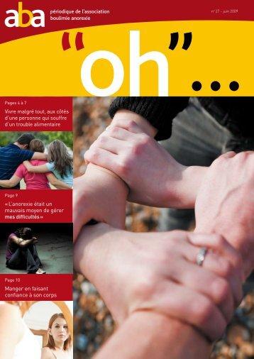 Périodique de l'association Boulimie Anorexie