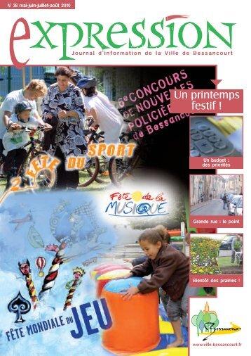 Expression septembre-octobre 2012 - Ville de Bessancourt