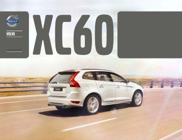 Téléchargez la brochure de la VOLVO XC60 (PDF)
