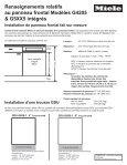 Dimensions de produit [PDF] - Miele - Page 3
