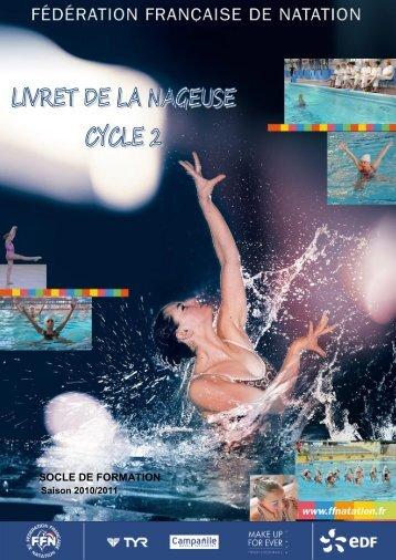 Le livret de la nageuse cycle 2 - Chartresmnat.fr