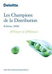 Les Champions de la Distribution - Business Immo