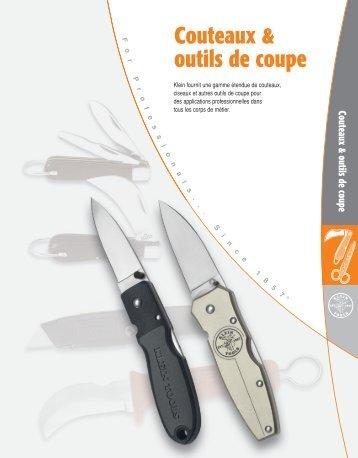 Couteaux & outils de coupe - Klein Tools