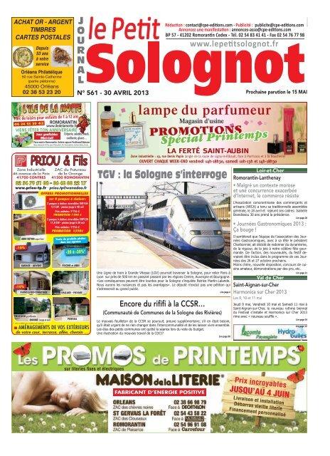 Promotions Spécial Printemps Le Petit Solognot